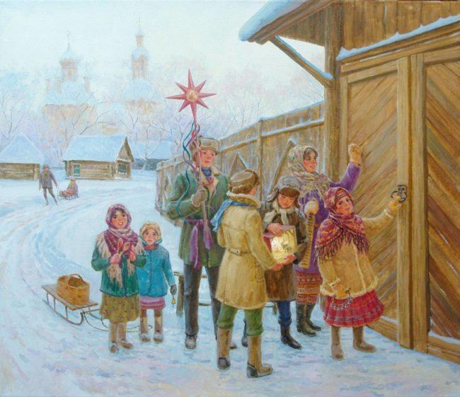 Стихи и песенки пришли к нам из древней Руси