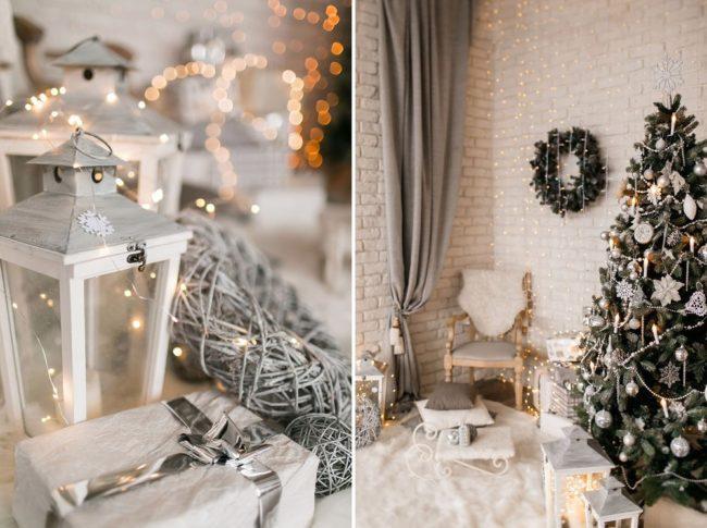 рождественский декор 2022