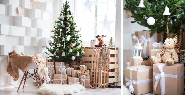 Как поставить елку на Новый год