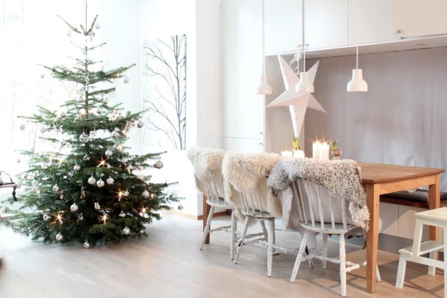 Цвета новогодней елки