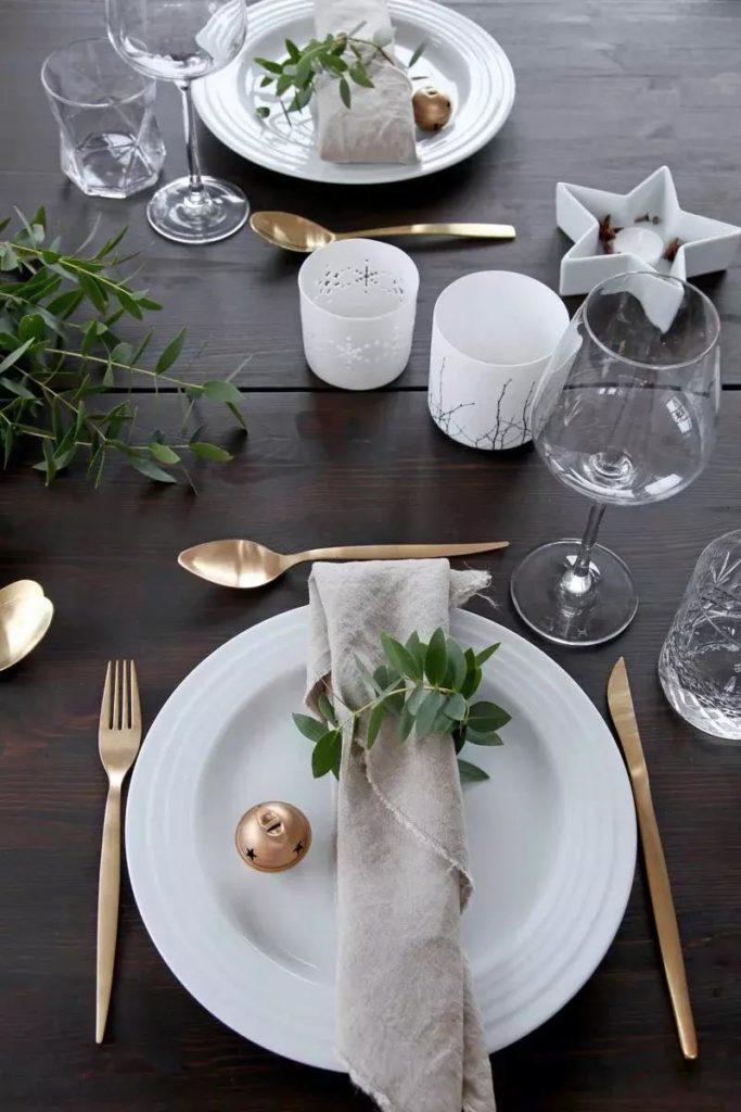 Как сервировать стол на Новый год 2020