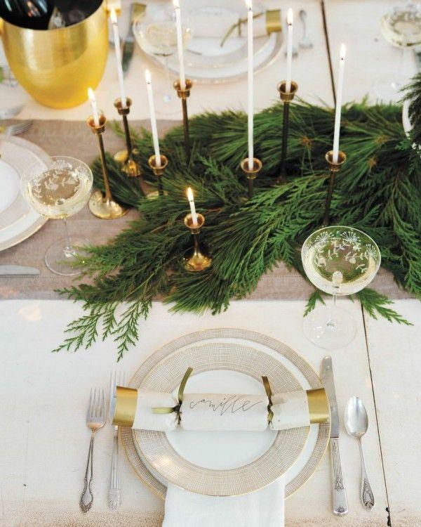 Цвета новогоднего стола