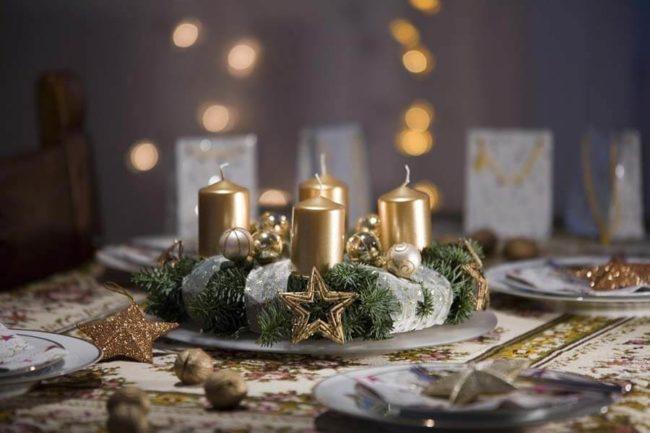 золотые свечки