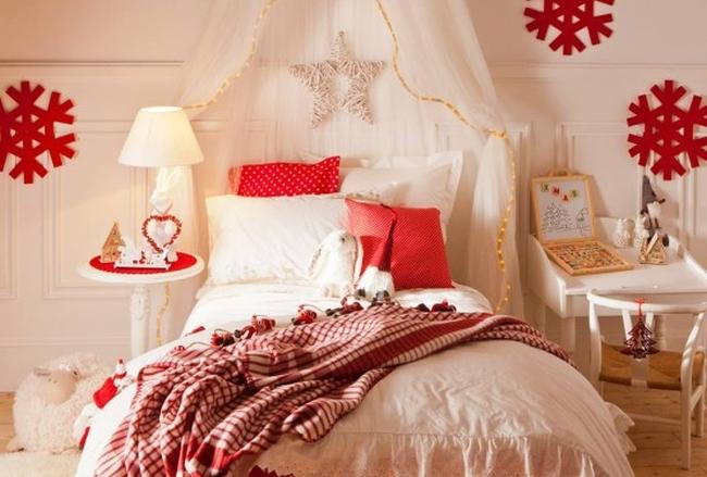 декор детской, кровать