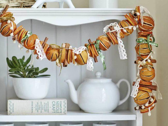 сушеные мандарины