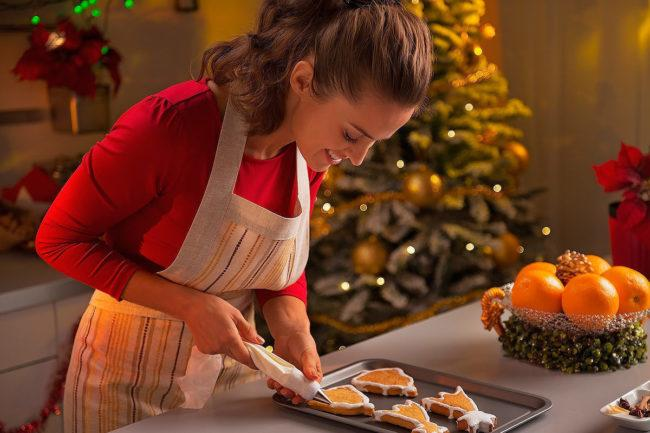 Как сделать кухню красивой на Новый год