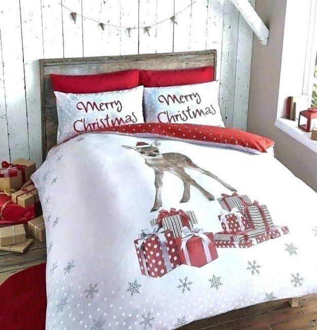 рождественская кровать