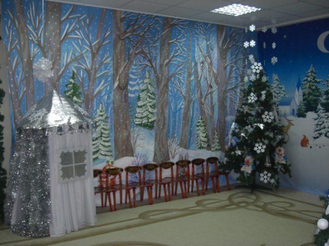 сказочный лес в детском садике