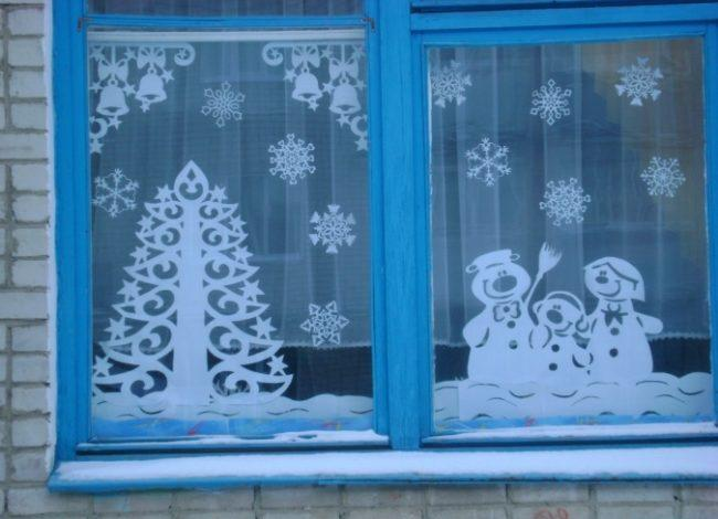 вырезалки на окна