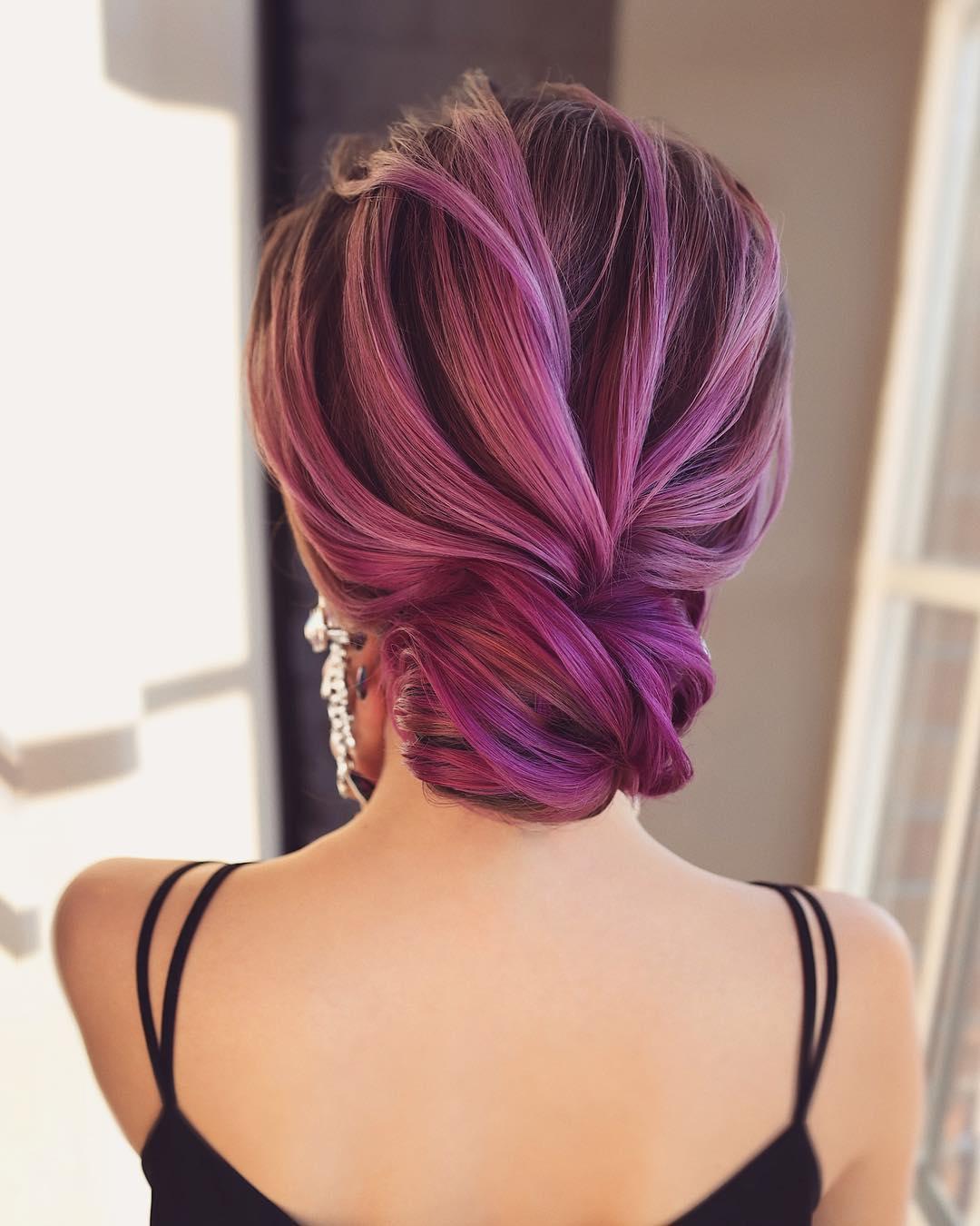 красивая ракушка из волос