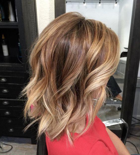 средние волосы