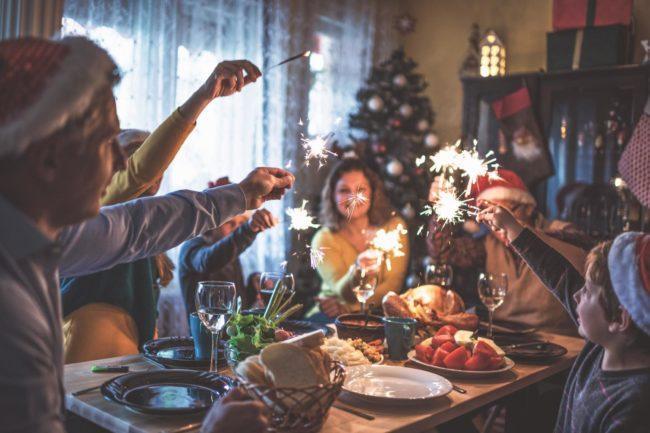 Семейный сценарий на Новый год