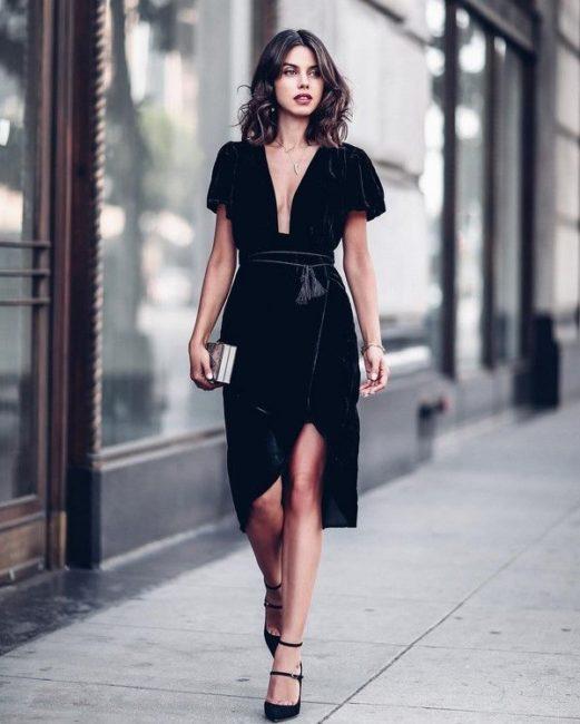черный наряд
