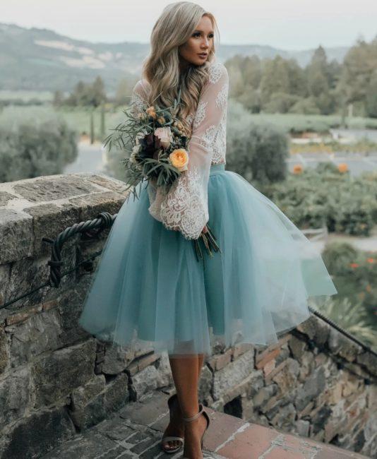 Необычные новогодние платья