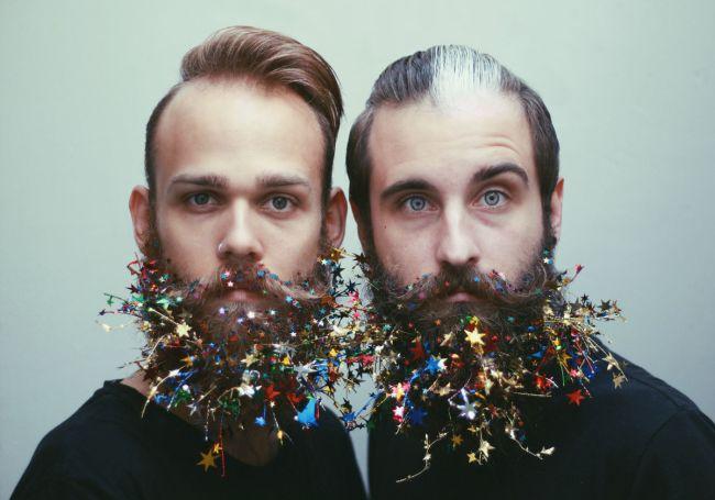 Звездочки на бороде