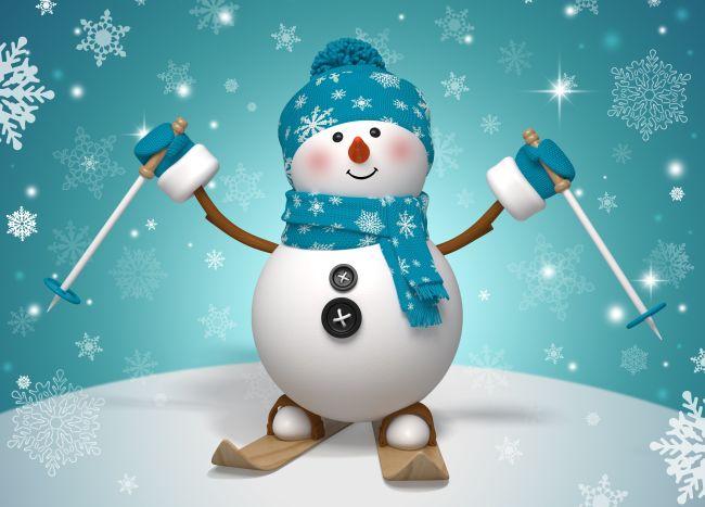 Снеговик шаблоны и вытвнанки