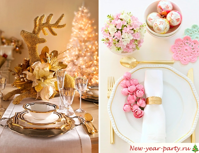 Новогодняя сервировка
