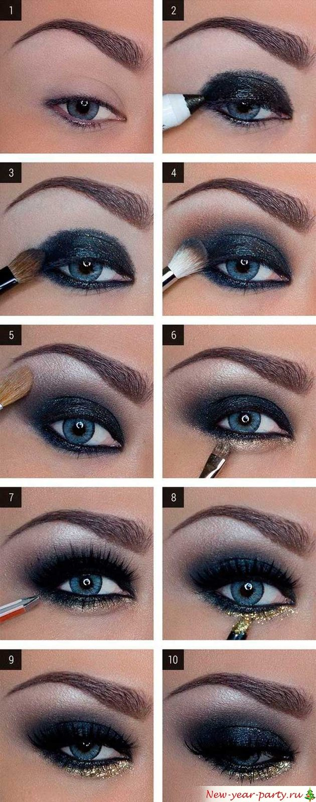 Для синих глаз