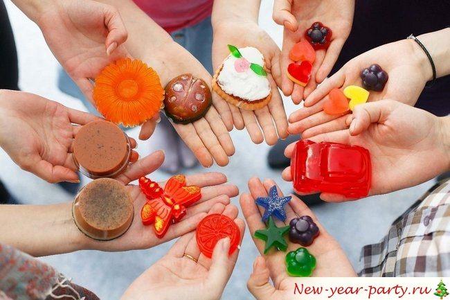 Подарки классу на Новый год в младших классах