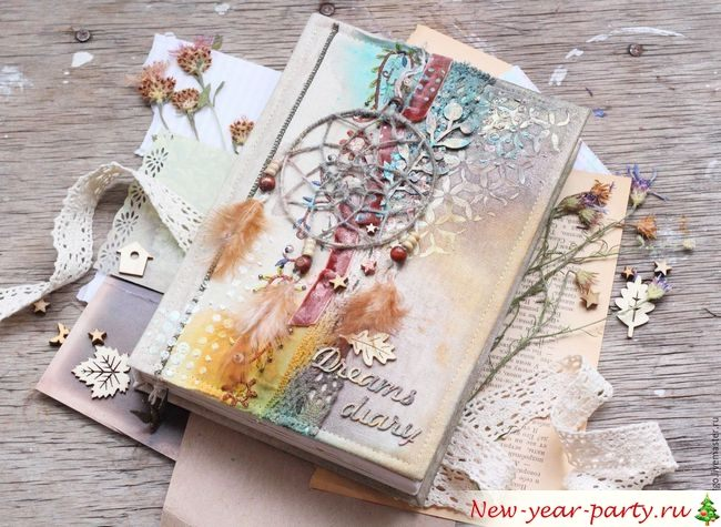 Блокноты для девочек - лучший подарок на Новый год