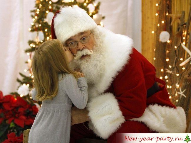 Новогодние поздравления в прозе для детей