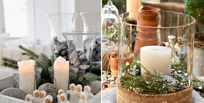Новогоднее декорирование в скандинаском стиле
