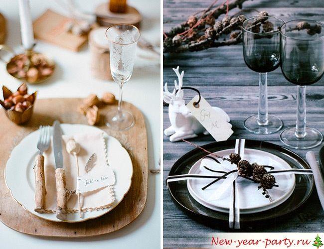 Чем украсить тарелки