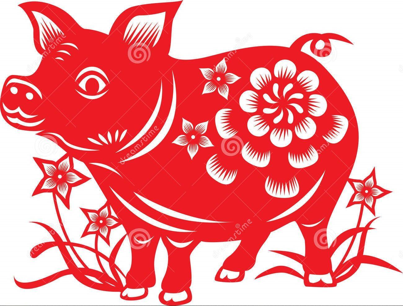 Смотреть Вытынанки Свинья и Кабан на Новый год 2019: шаблоны на окна видео