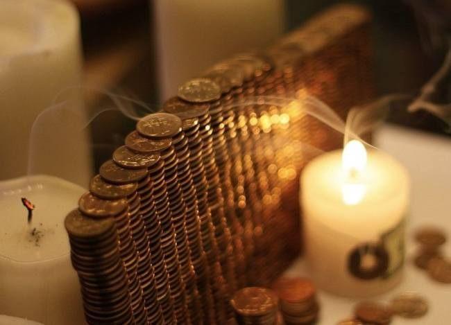 Ритуал на свече