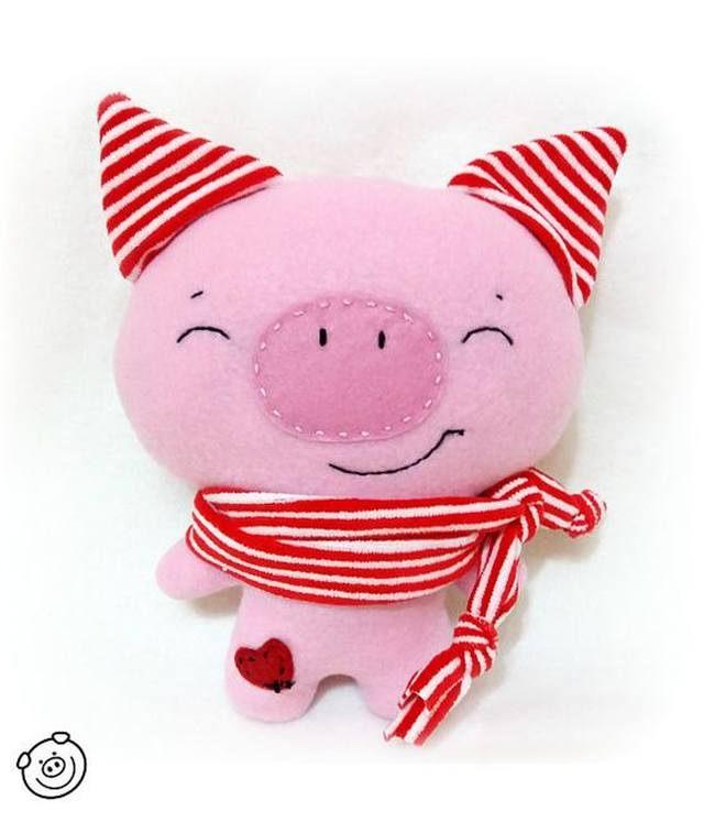 Как сшить свинку своими руками фото 581
