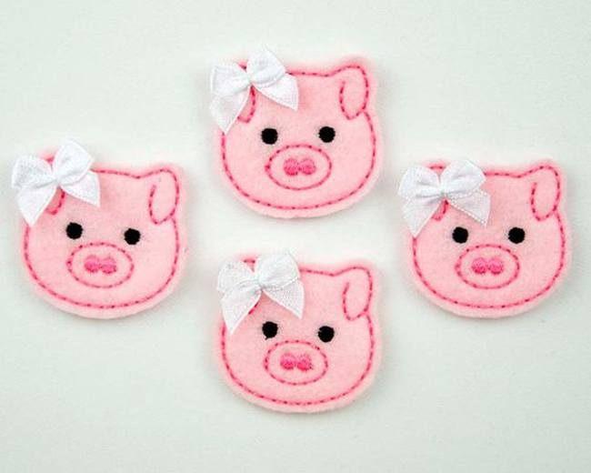 Фетровые свинки