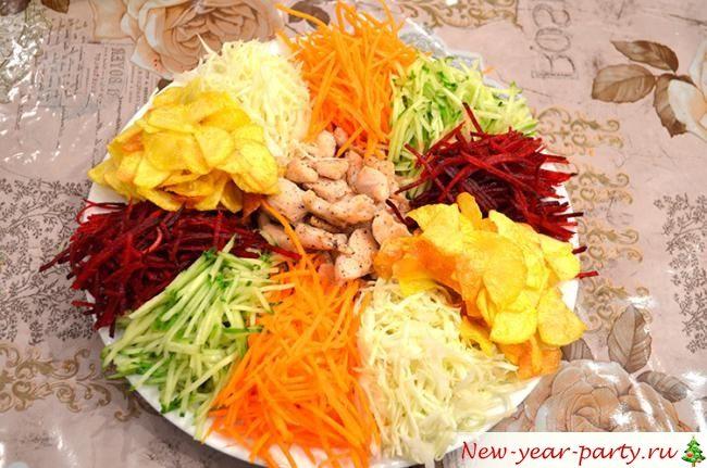 Овощная нарезка на год Сивньи