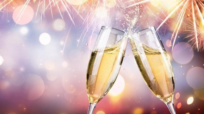 Народные новогодние приметы про шампанское