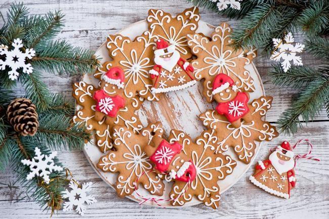 Печеньки под елку