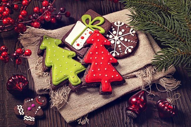 Сладкие сувениры на Новый год