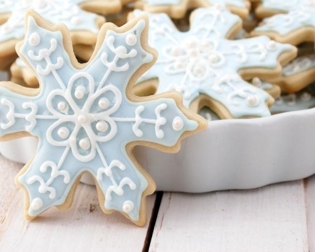 красивые печенья