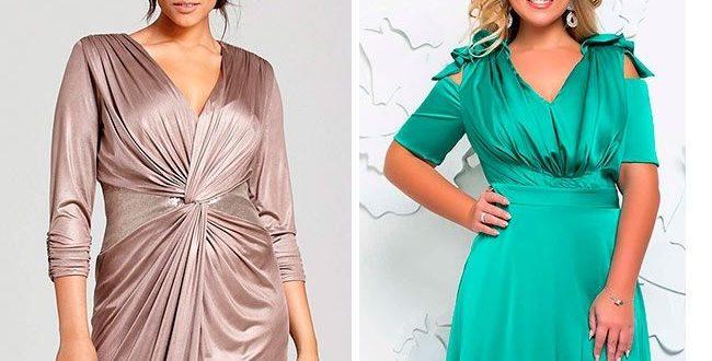 Новогодние платья для полных фото