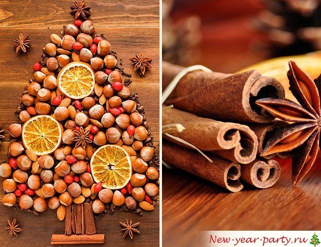 Орехи и пряности