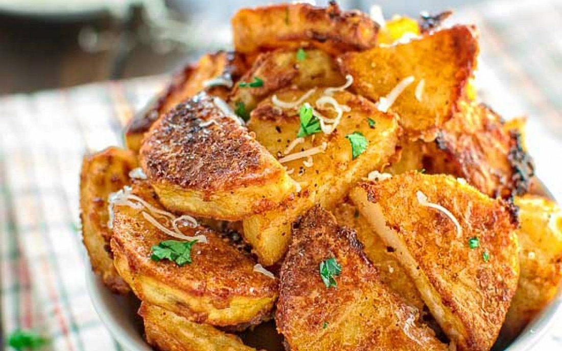 Картошка в духовке на Новый год