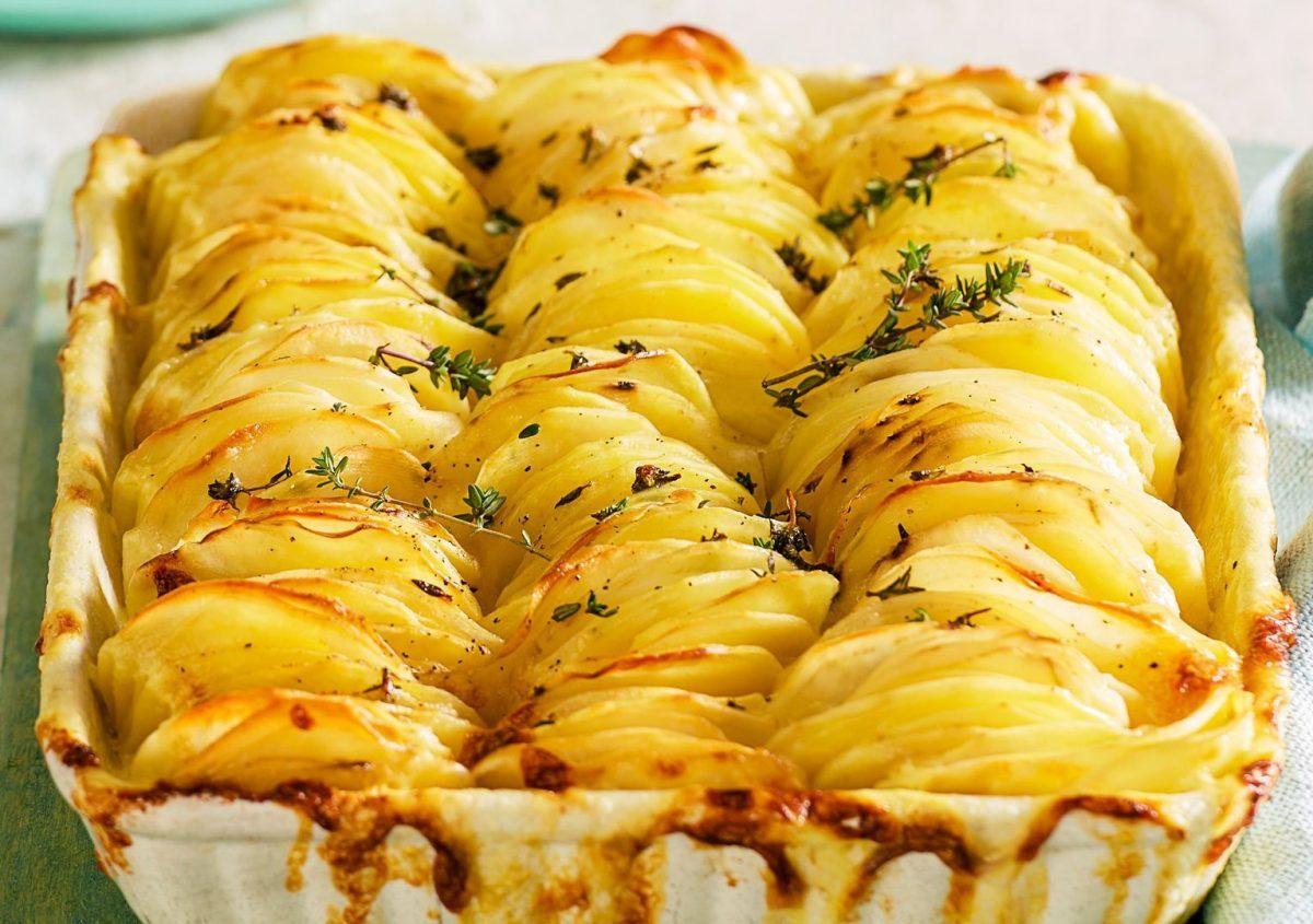 Слайсы из картошечки