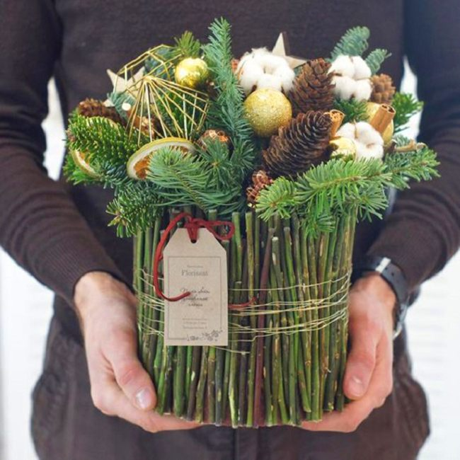 Цветы букеты и композиция к новому году своими руками в детский сад интернету доставкой