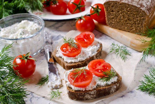 Вкусные бутерброды на Новый год