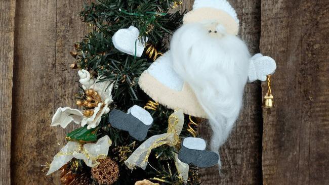 Как сделать Деда Мороза из ваты