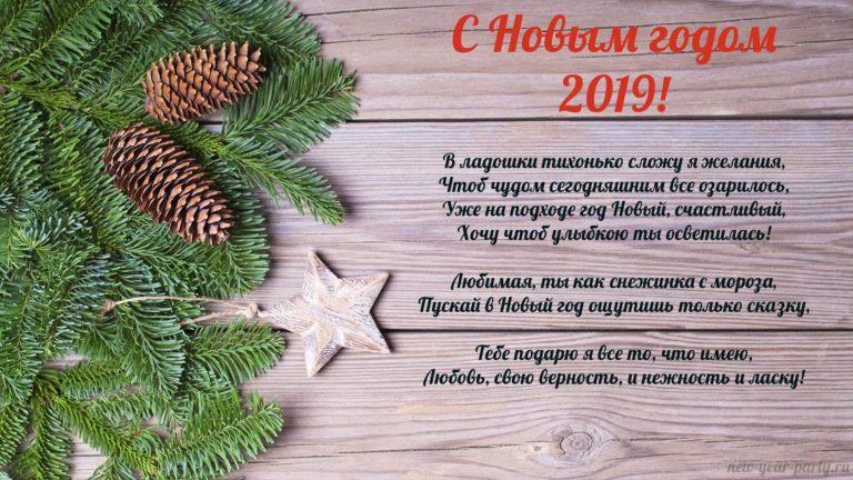 Как поздравить на Новый год 2019 новые фото