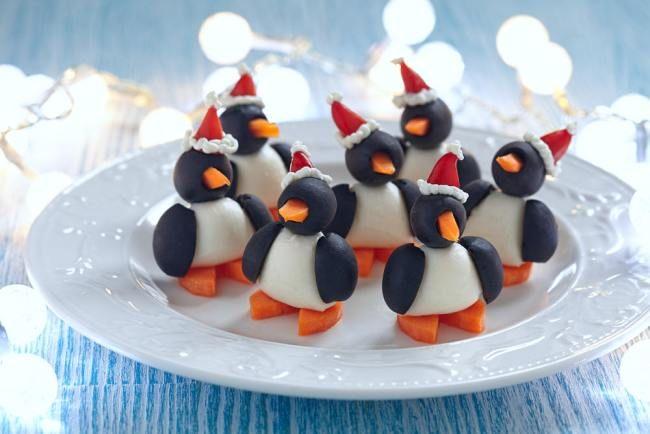 Пингвины из яиц