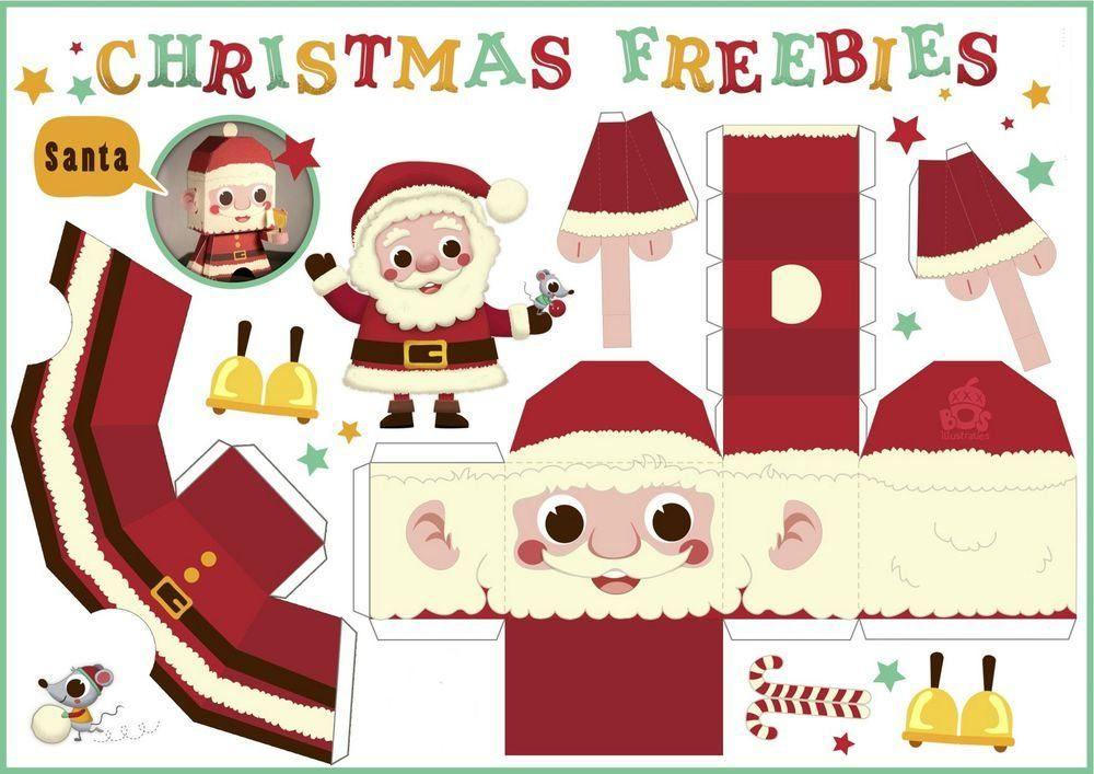 Дед Мороз из бумаги своими руками: 50 фото-идей с шаблонами