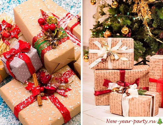 Новогоднее настроение в подарках