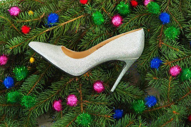 Модные новогодние туфли