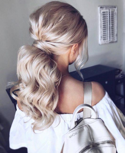 Объемная укладка волос