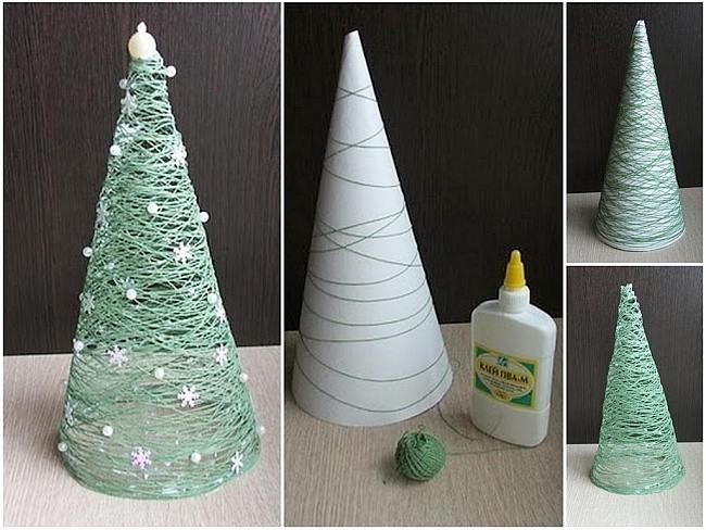 Воздушные новогодние елки